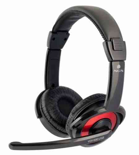 Auriculares Estereo Vox 600 Usb Ngs