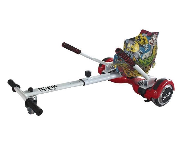 Accesorio Kart Hoverboard Graffiti Olsson