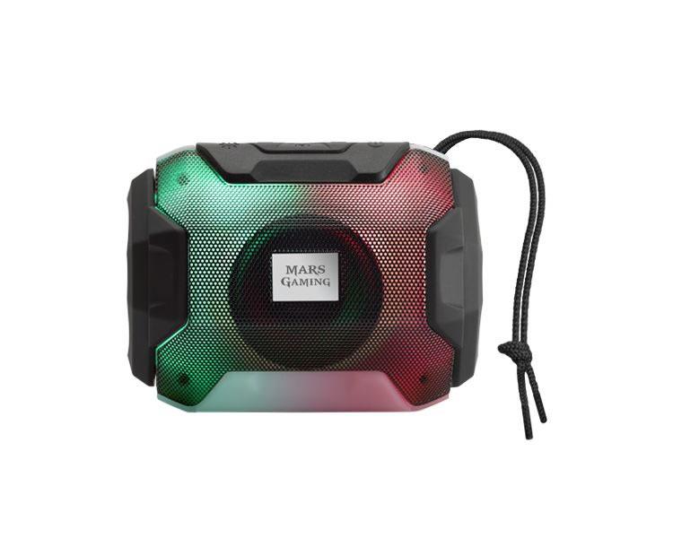 Altavoz Bluetooth Rgb Msbax Negro Mars Gaming