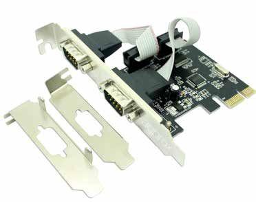 Ver Approx APPPCIE2S Interno De serie tarjeta y adaptador de interfaz