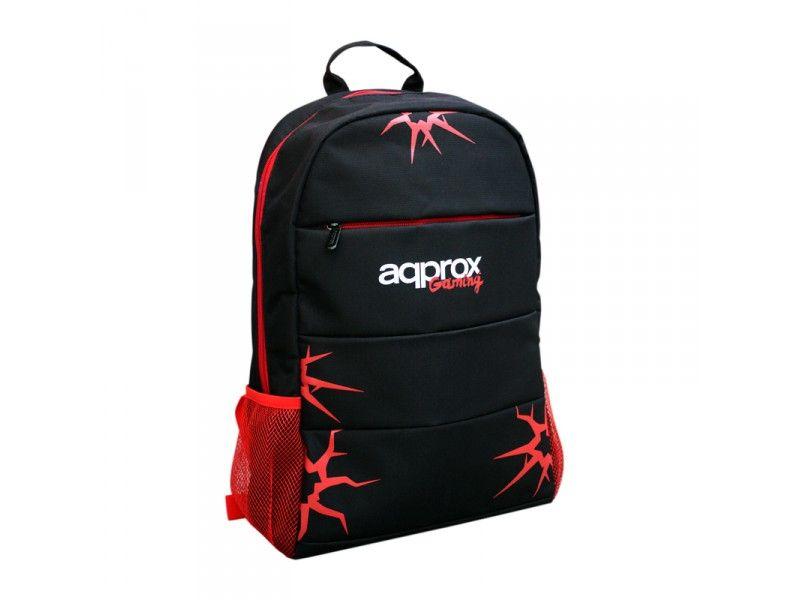 Approx GBP01 15 6 Mochila Negro Rojo
