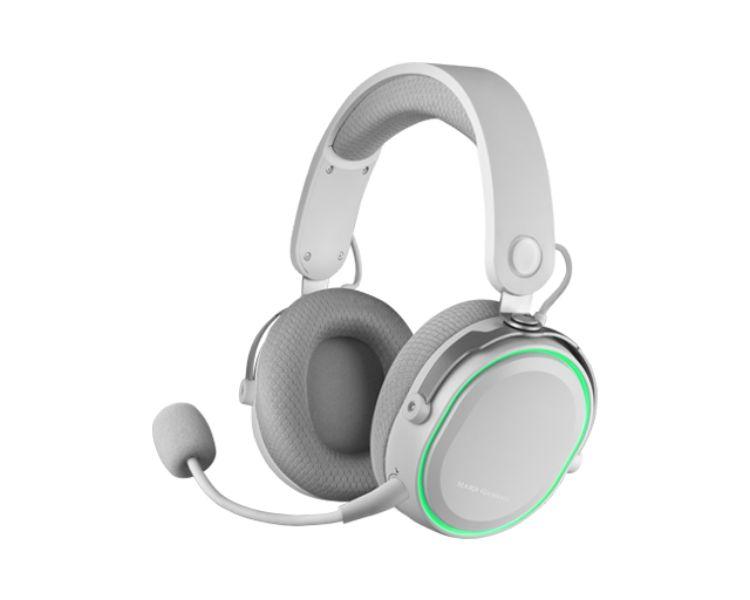 Auricular Inalambrico Mhw Blanco Mars Gaming