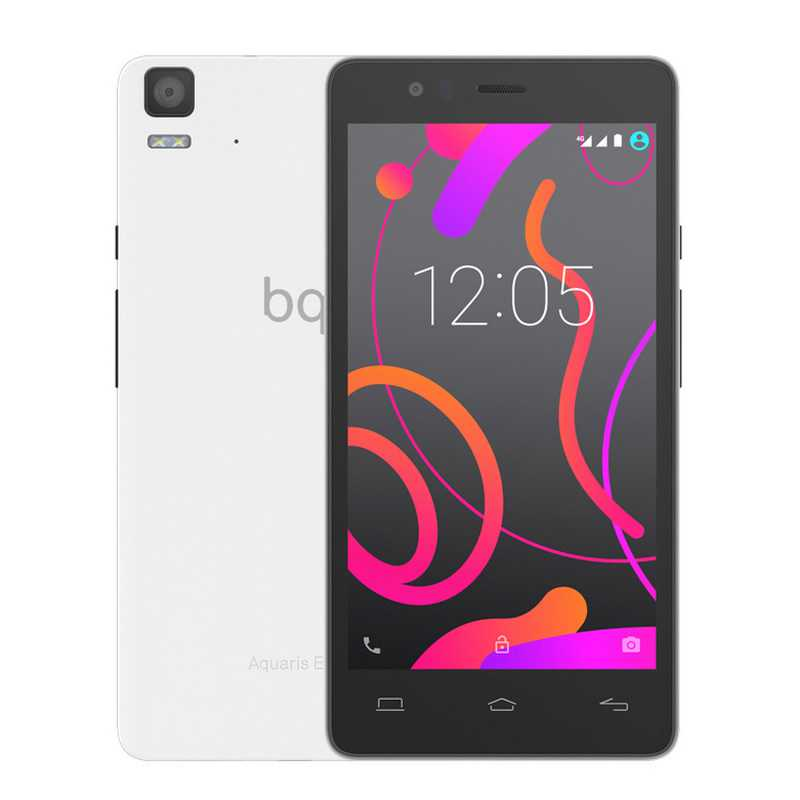 Ver BQ AQUARIS E5s HD 4G 16 GB BLANCO