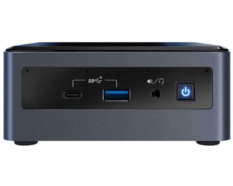 Barebone Nuc Intel Bxnuc10i7fnhn1 Negro Cable Alimentacion
