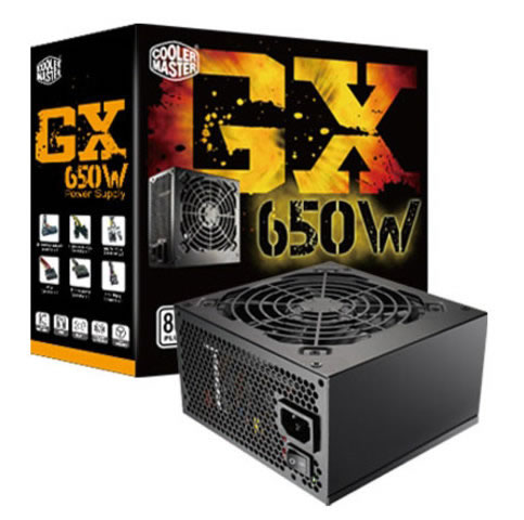 Coolermaster Gx-650 W 80 Plus