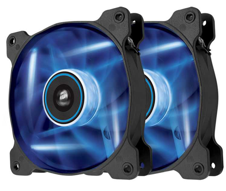 Ver CORSAIR THE AIR SP120 Azul DUAL PACK