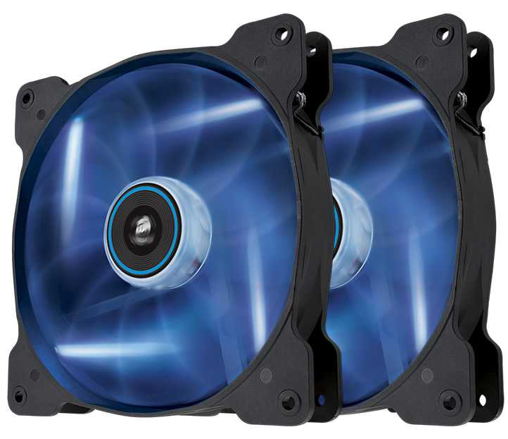 Ver CORSAIR THE AIR SP140 Azul DUAL PACK