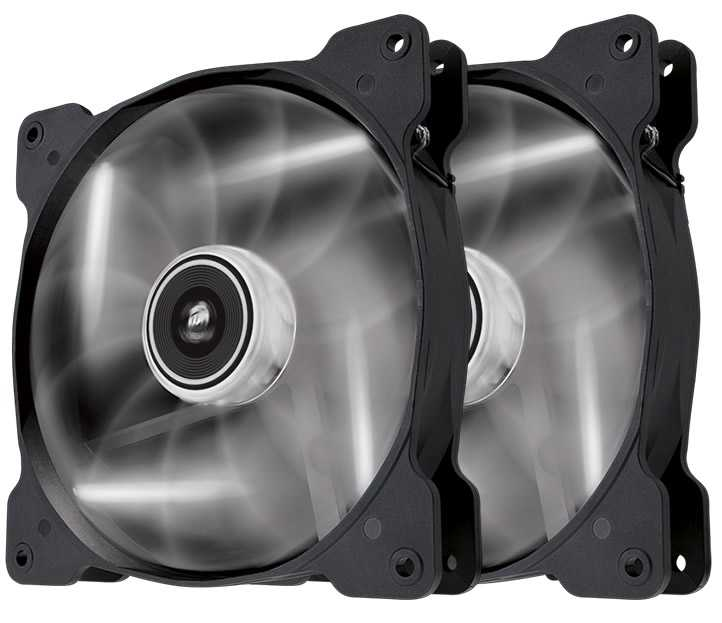 Ver CORSAIR THE AIR SP140 Blanco DUAL PACK