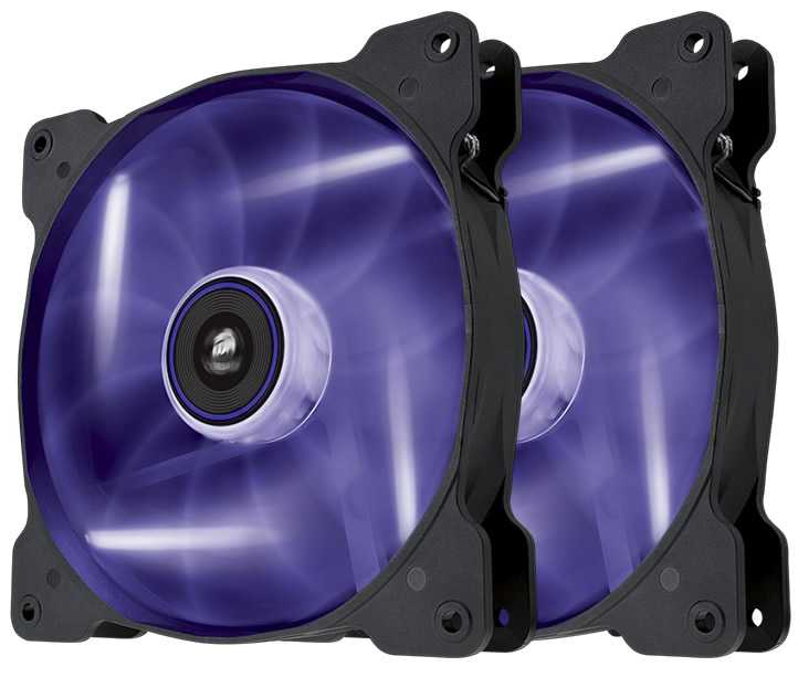 Ver CORSAIR THE AIR SP140 Purpura DUAL PACK