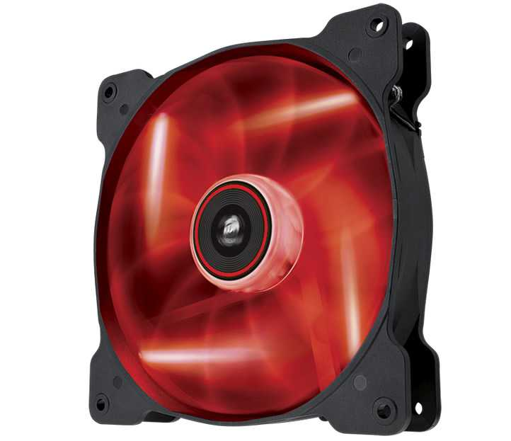 Ver CORSAIR THE AIR SP140 Rojo