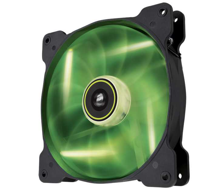 Ver CORSAIR THE AIR SP140 Verde
