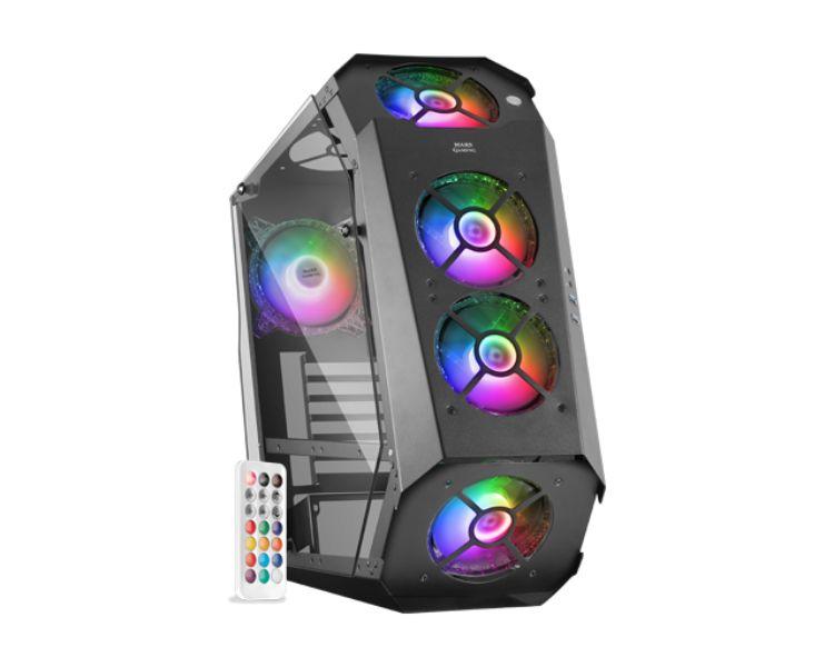 Caja Torre E Atx Mc51 Negro Mars Gaming