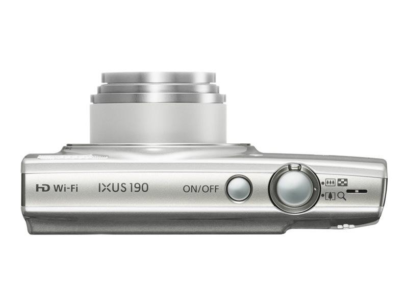Canon Ixus 190 Plata