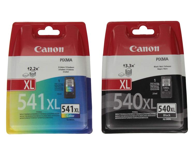 Cartucho Canon Pg540xl Cl541xl