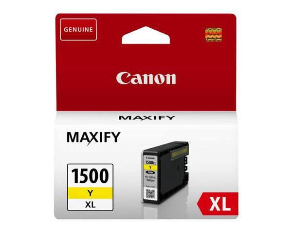 Cartucho Tinta Amarillo Canon Pgi 1500 Xl