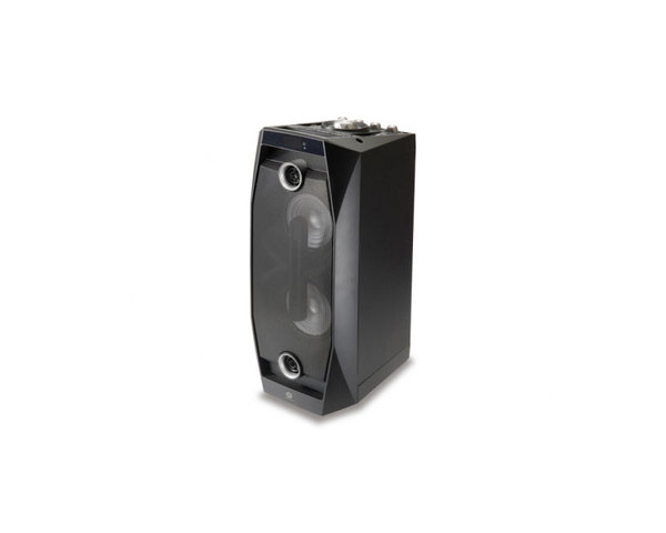 Conceptronic Altavoz Disco Negro Bluetooth Bateria