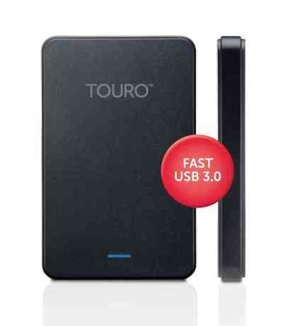 Disco Duro Usb Hgst Touro Mobile Mx3 25 1 Tb Black