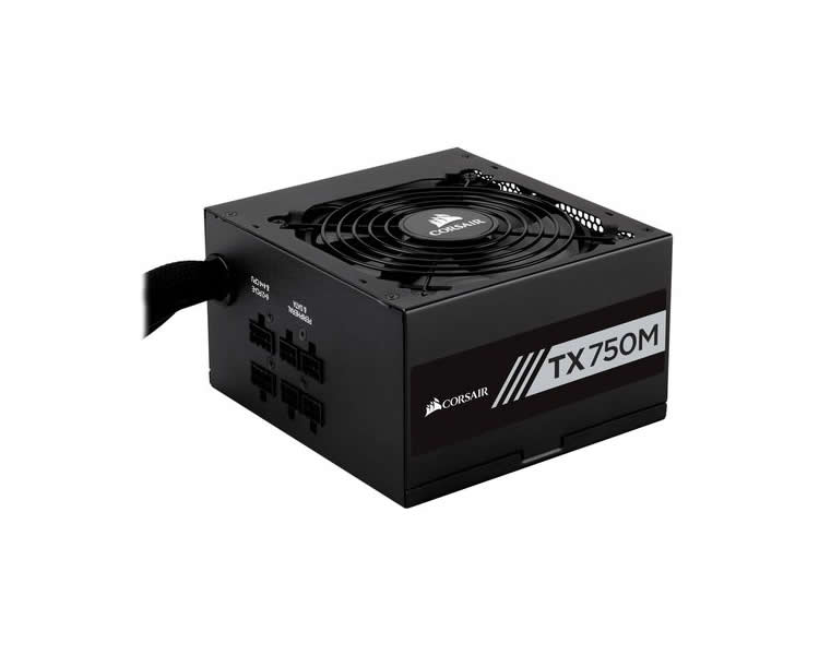 Corsair Enthusiast Tx750 80 Oro 750w