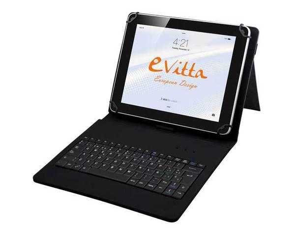 Ver Funda Teclado Tablet 10 1 Keytab Negro E Vitta