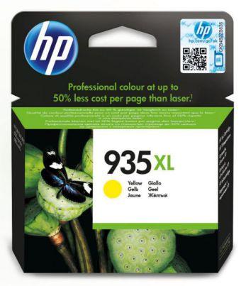 HP Cartucho de tinta original 935XL de alta capacidad amarillo