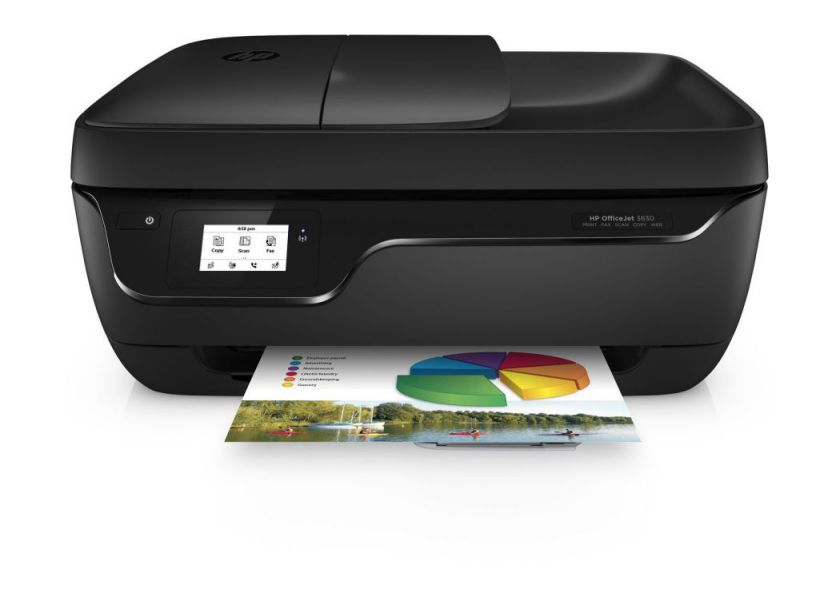 Ver HP OfficeJet 3832 Wifi Negro