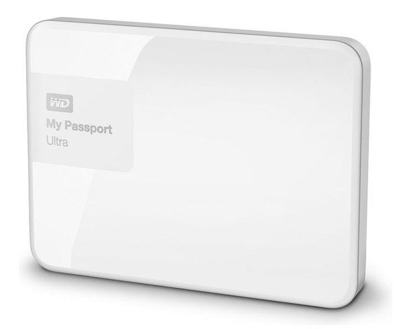 Ver WESTERN DIGITAL 1 Tb 30 My Passport Ultra Blanco