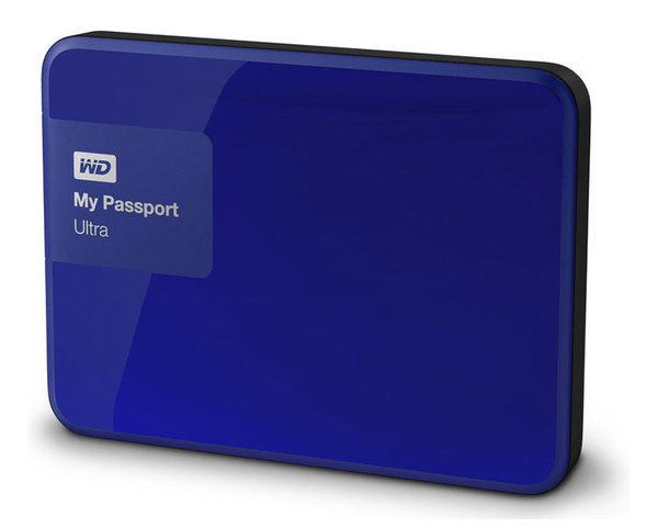 Ver WESTERN DIGITAL 2 Tb 30 My Passport Ultra Blue