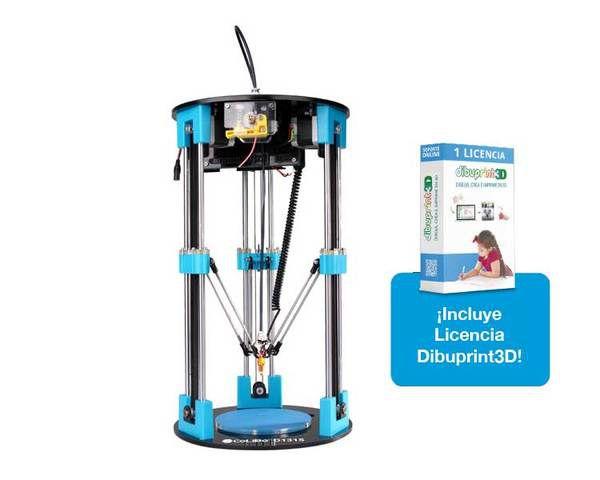 Impresora 3d Colido Delta 1315 Dibuprint Basic