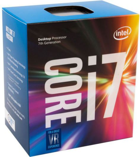 Intel Core i7 7700K 4 2GHz 8MB Smart Cache Caja
