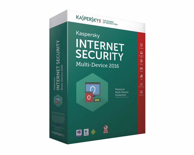Ver KASPERSKY INTERNET SECURITY MULTIDEVICE 2016 1 Lic EQUIPOS