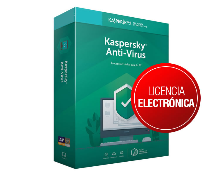 Kaspersky Antivirus 2019 5 Lic 2 Anos Renovacion Electronica