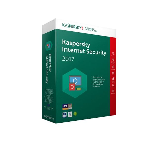 Kaspersky Internet Security Multi Device 2017 5usuario s 1ano s Espanol