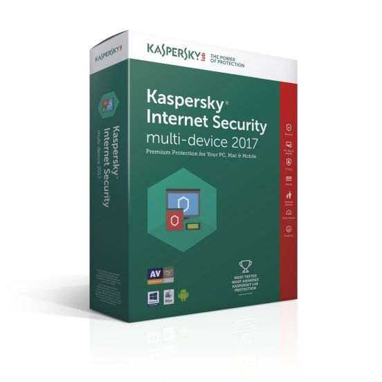 Ver Kaspersky Internet Security Multi Device 2017 2 usuarios