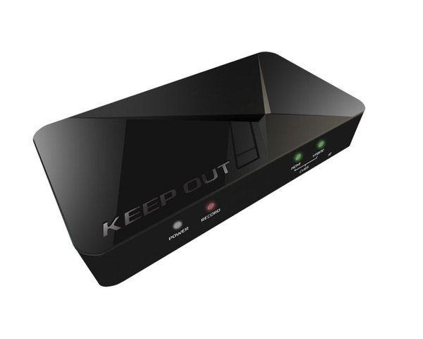 Ver Keepout Capturadora Gamer Hd Sx300