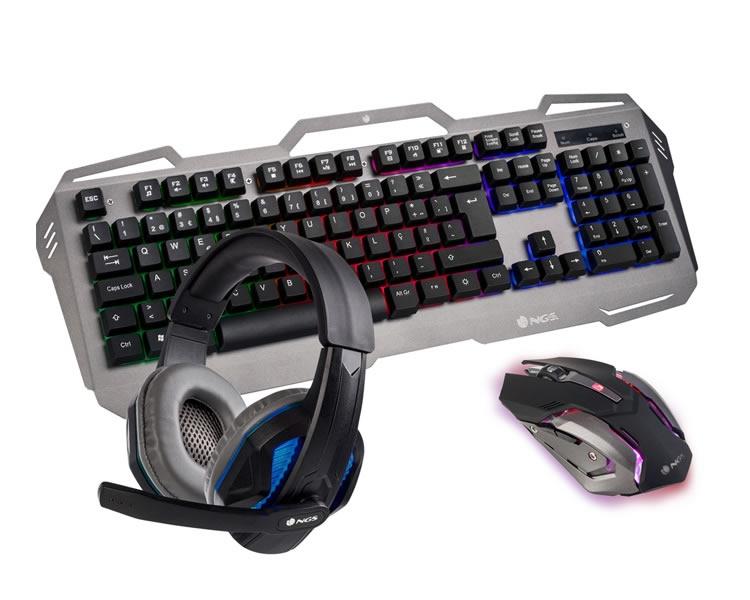 Ver Kit Gaming Ngs Gbx 1500 Teclado Raton Auricular