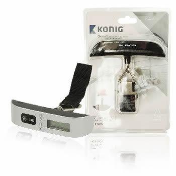 Konig HC LS10N 50kg Electronico bascula de equipaje