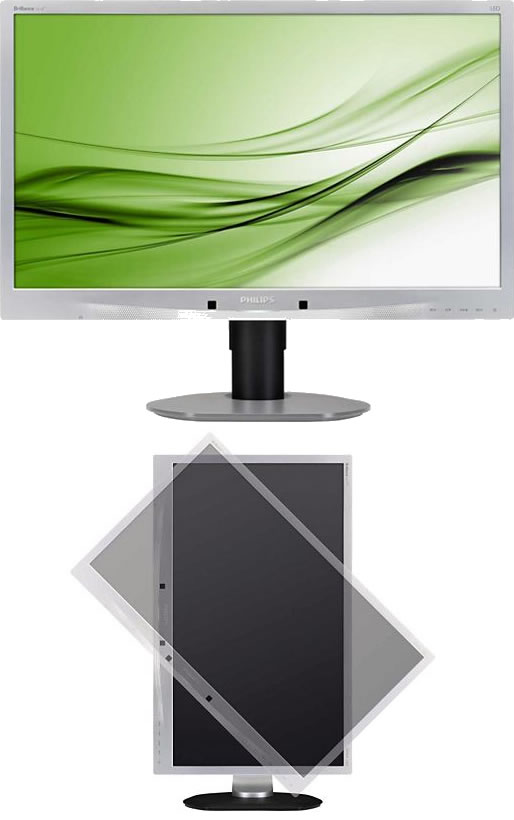Monitor Philips 241b4lpcs Led