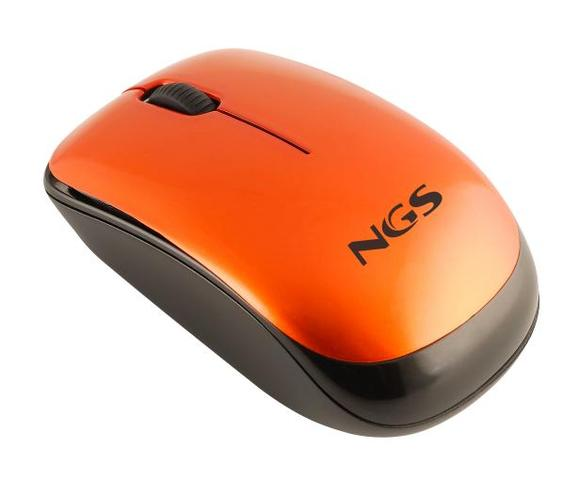 Mouse Notebook Wireless Orange Spice Ngs
