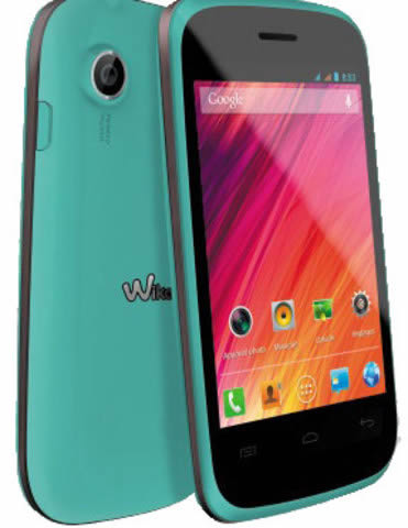 Movil Smartphone Wiko Ozzy 35 Blue