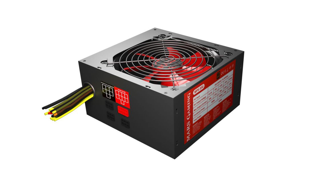 Ver Mars Gaming MPII850 850W