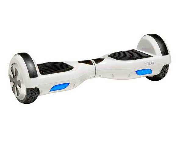 Monopatin Electrico Hoverboard Denver Dbo 6500 Blanco
