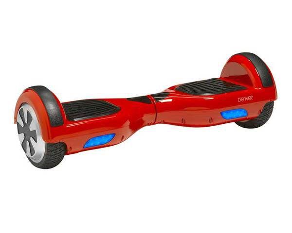 Monopatin Electrico Hoverboard Denver Dbo 6500 Rojo