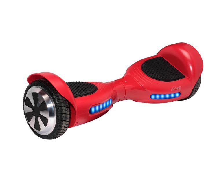 Monopatin Electrico Hoverboard Denver Dbo 6530 Rojo