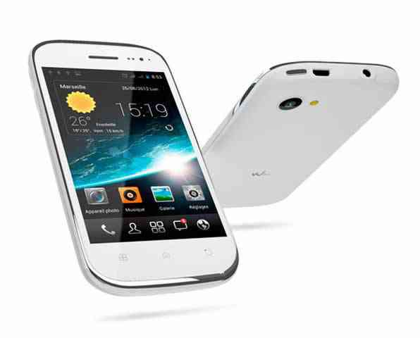Movil  Smartphone Wiko Slim 4 White
