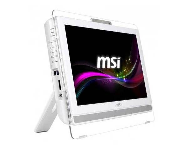 Msi Aio Pro 22et 4bw 022xeu Blanco Multitouch