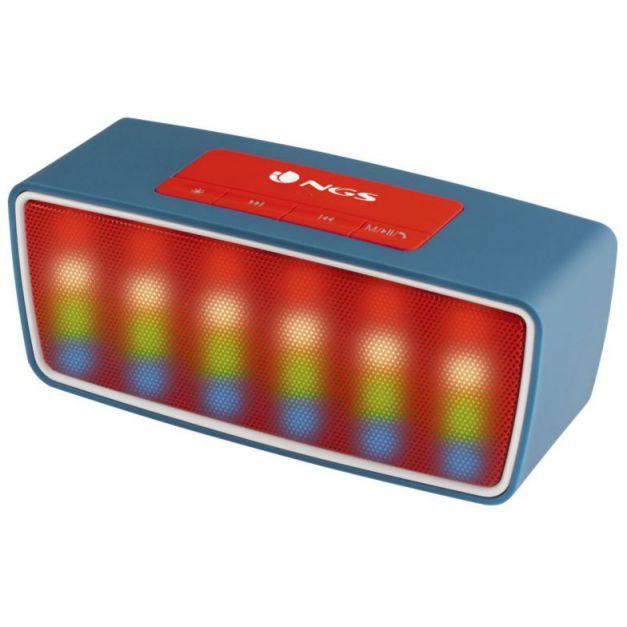 Ver NGS Roller Glow 3W Azul Rojo