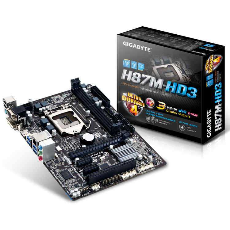 Placa Base Gigabyte Z87m-hd3