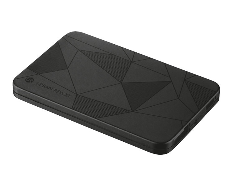 Ver POWER BANK 1800TmAh ULTRATHIN BLACK URBAN REVOLT