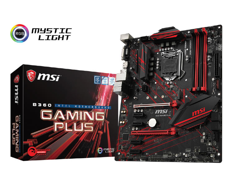 Ver Msi B360 Gaming Plus