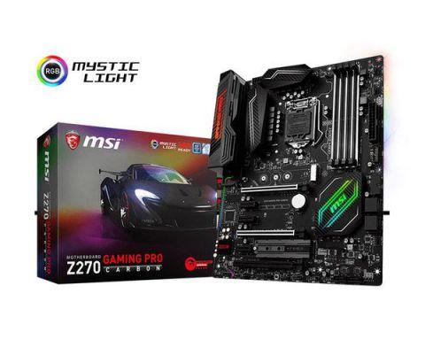 Ver Msi Z270 Gaming Pro Carbon